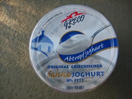 Joghurt Statt Sahne